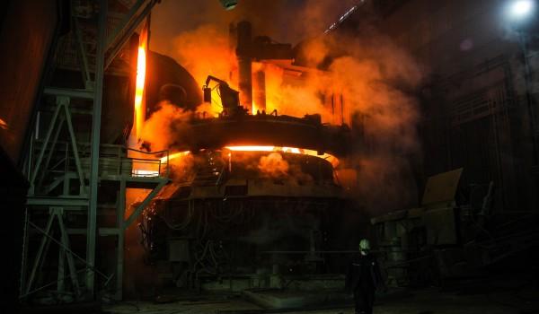 Коммерческое использование водорода в производстве сталей